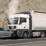 Truck and Car Accident-Causing Accident